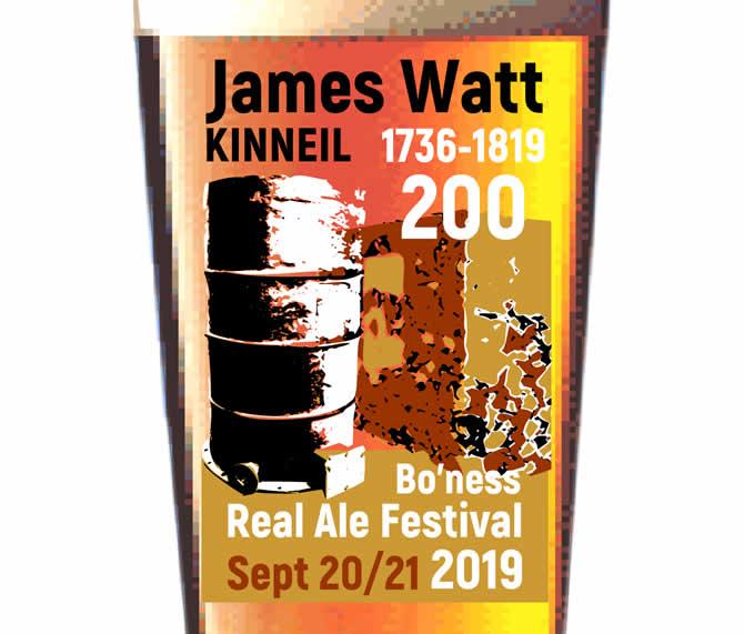 James Watt Glass Theme 2019